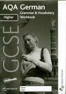 AQA GCSE German Higher Grammar and Vocabulary Workbook Pack (x8)