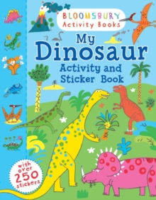 My Dinosaur Activity and Sticker Book, Paperback Book