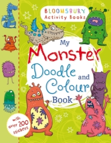 My Monster Doodle and Colour Book, Paperback Book