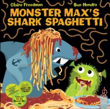 Monster Max's Shark Spaghetti, Paperback Book