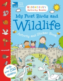 RSPB My First Birds and Wildlife Activity and Sticker Book, Paperback Book