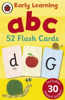 Ladybird Early Learning: ABC Flash Cards, Cards Book