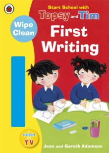 Start School with Topsy and Tim: Wipe Clean First Writing, Paperback Book