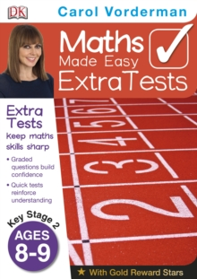 Maths Made Easy Extra Tests Age 8-9, Paperback Book