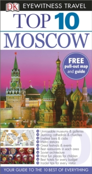 DK Eyewitness Top 10 Travel Guide: Moscow, Paperback Book