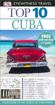 DK Eyewitness Top 10 Travel Guide: Cuba, Paperback Book