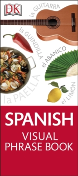 Spanish Visual Phrase Book, Paperback Book