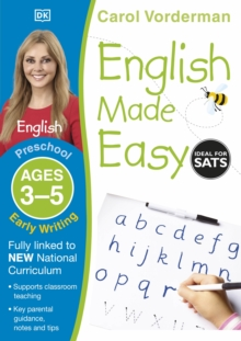 English Made Easy Early Writing Preschool Ages 3-5 : Ages 3-5 preschool, Paperback Book