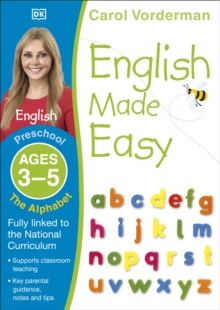 English Made Easy The Alphabet Preschool Ages 3-5, Paperback Book