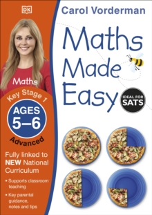 Maths Made Easy Ages 5-6 Key Stage 1 Advanced, Paperback Book