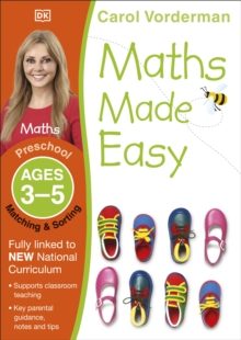 Maths Made Easy Matching And Sorting Preschool Ages 3-5 : Preschool ages 3-5, Paperback Book