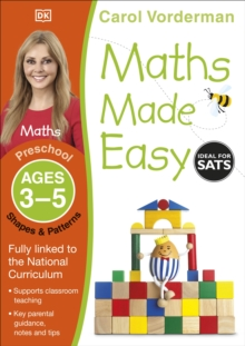 Maths Made Easy Shapes And Patterns Preschool Ages 3-5 : Preschool ages 3-5, Paperback Book