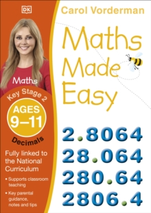 Maths Made Easy Decimals Ages 9-11 Key Stage 2 : Ages 9-10, Key Stage 2, Paperback Book