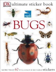 RSPB Bugs Ultimate Sticker Book, Paperback Book