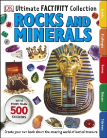 Ultimate Factivity Collection Rocks and Minerals, Paperback Book