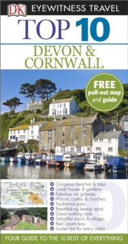DK Eyewitness Top 10 Travel Guide: Devon & Cornwall, Paperback Book