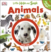 Little Hide and Seek Animals, Board book Book