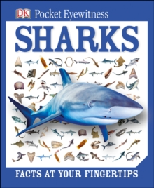 DK Pocket Eyewitness Sharks, Hardback Book