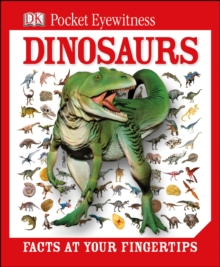 DK Pocket Eyewitness Dinosaurs, Hardback Book