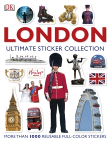 London: The Ultimate Sticker Collection, Paperback Book