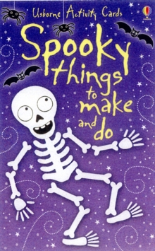 Spooky Things to Make and Do Activity Cards, Novelty book Book