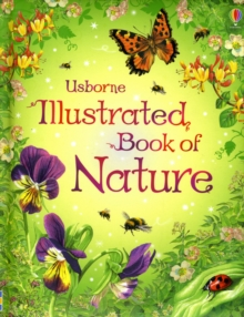 The Usborne Illustrated Book of Nature, Hardback Book