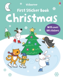 First Christmas Sticker Book, Paperback Book