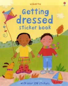 Getting Dressed Sticker Book, Paperback Book