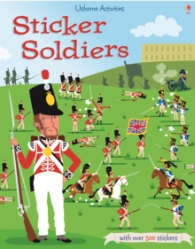 Sticker Dressing Soldiers, Paperback Book