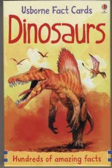 Hundreds of Dinosaur Facts Cards, Paperback Book