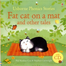 Phonics Stories: Fat Cat on a Mat and Other Tales with CD, Hardback Book