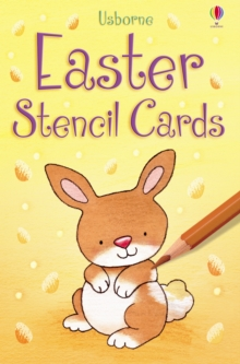 Easter Stencil Cards, Novelty book Book
