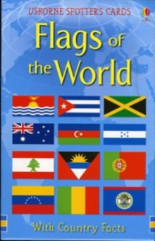Flags of the World Usborne Spotter's Cards, Novelty book Book