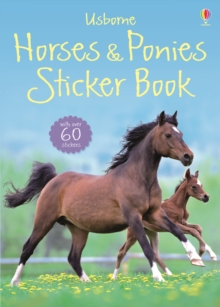 Spotter's Sticker Guides: Horses and Ponies, Paperback Book