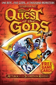 Quest of the Gods Book 1: Attack of the Scorpion Riders, Paperback Book