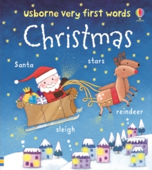 Usborne Very First Words: Christmas, Board book Book