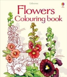 Flowers Colouring Book, Paperback Book