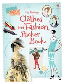 Clothes and Fashion Sticker Book, Paperback Book