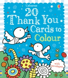 20 Thank You Cards to Colour, Novelty book Book