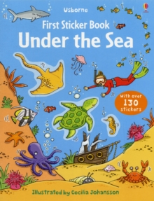 First Sticker Book Under the Sea, Paperback Book