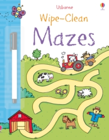 Wipe-clean Mazes, Paperback Book