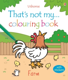 That's Not My...Farm Colouring Book, Paperback Book