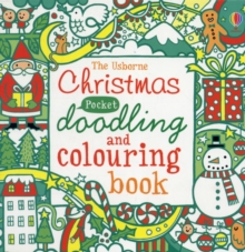 Pocket Doodling and Colouring Christmas, Paperback Book