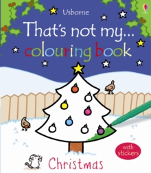 Thats Not My Christmas Colouring Book, Paperback Book