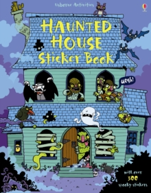 Haunted House Sticker Book, Paperback Book