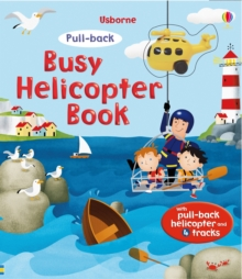 Pull-Back Busy Helicopter Book, Board book Book