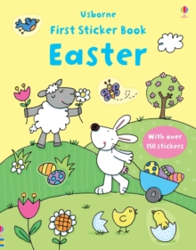 First Sticker Book Easter, Paperback Book