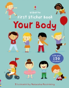 First Sticker Book: Your Body, Paperback Book
