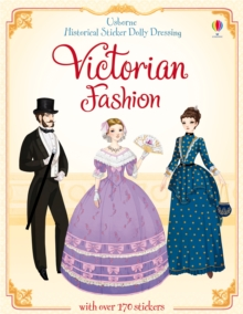Historical Sticker Dolly Dressing Victorian Fashion, Paperback Book