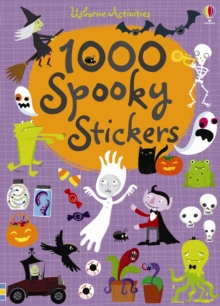 1000 Spooky Stickers, Paperback Book